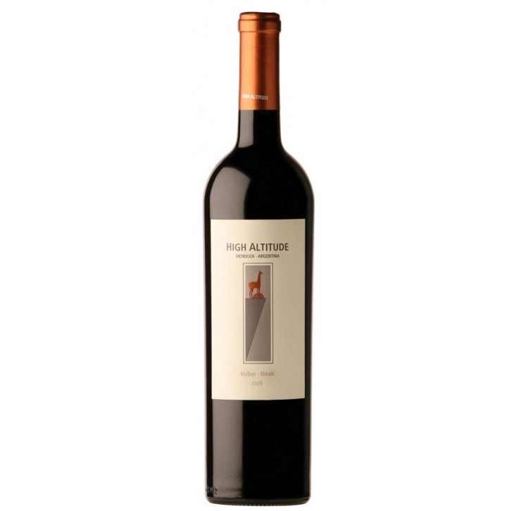 High Altitude Malbec/Shiraz 75cl