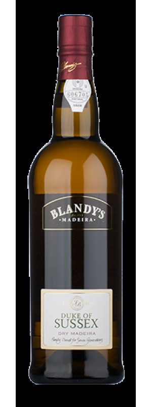 Blandy's Duke Of Sussex 3Yo Dry Madeira 75cl